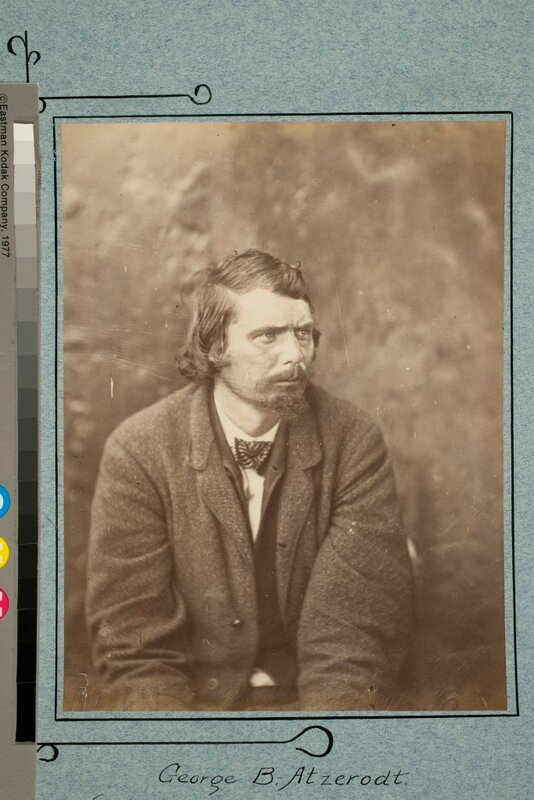 George B. Atzerodt. (One of the Lincoln Assassination Consiprators), 1865