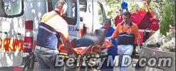 В Бельцах женщину удалось спасти из горящей квартиры