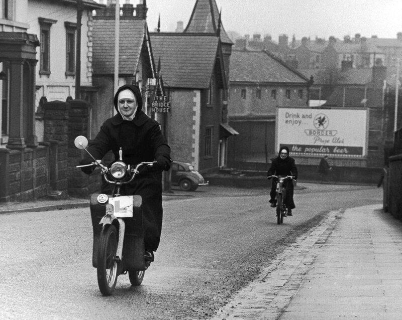 Nuns On Mopeds