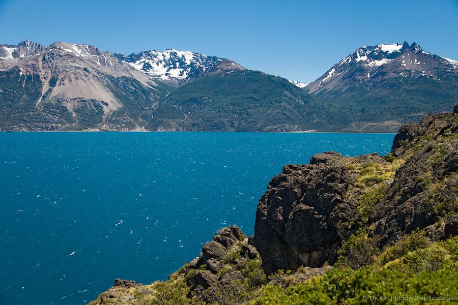 11. Лазурь и мрамор озера Буэнос Айрес - Хенераль Каррера.