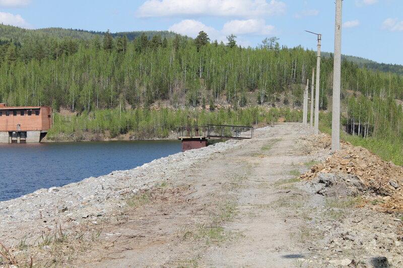 Дорожка вдоль водохранилища (13.06.2013)