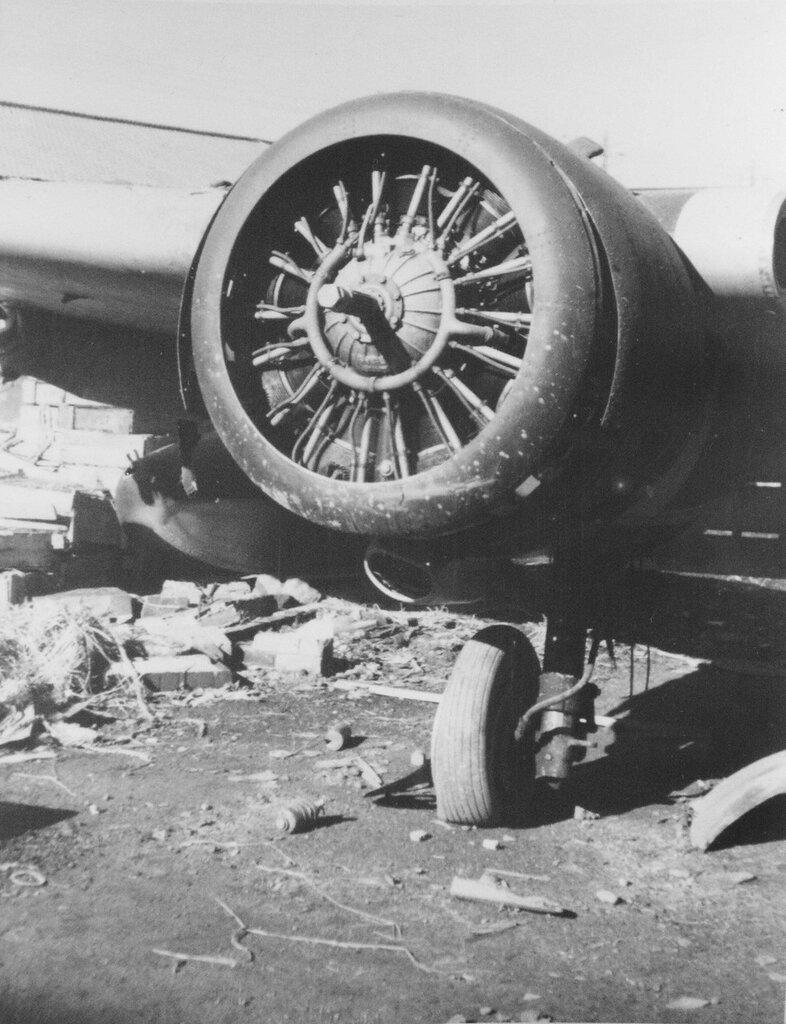 Japanese airplane engine, 12-1945