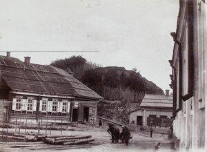 Вид жилых домов у Красного холма.