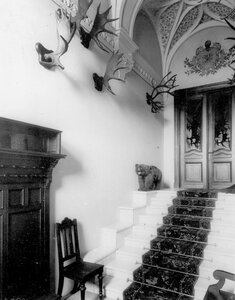 Парадная лестница в особняке А.Л.Франка.