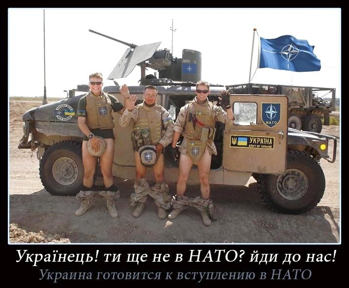 для демотиваторы украина для нато сессию