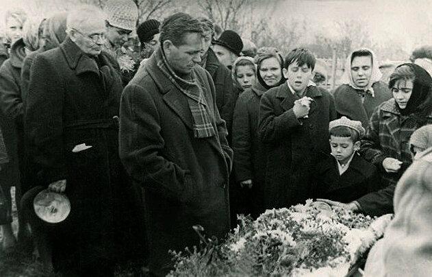Воронеж, 1966 год. Похороны мамы.