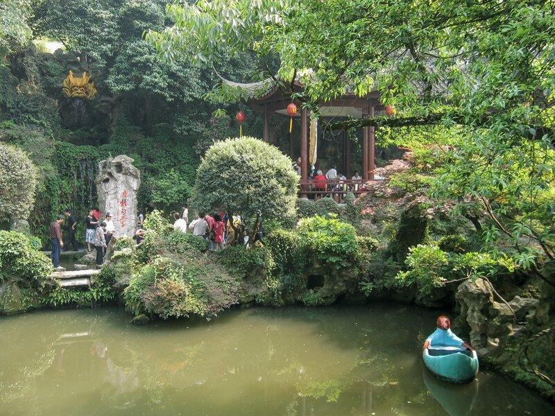 Источник Желтого дракона и пруд, Хуанлундун, Ханчжоу