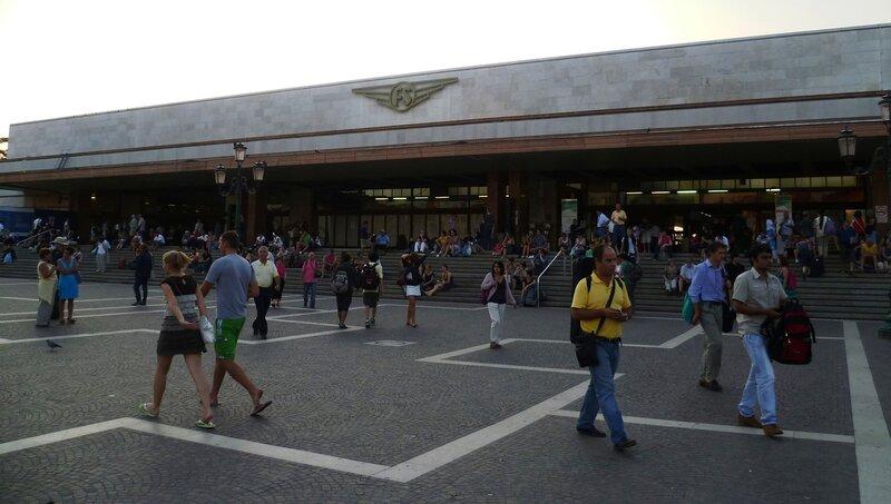 Италия. Венеция. Вокзал Санта-Лючия. (Italy. Venice. Santa Lucia Train Station)