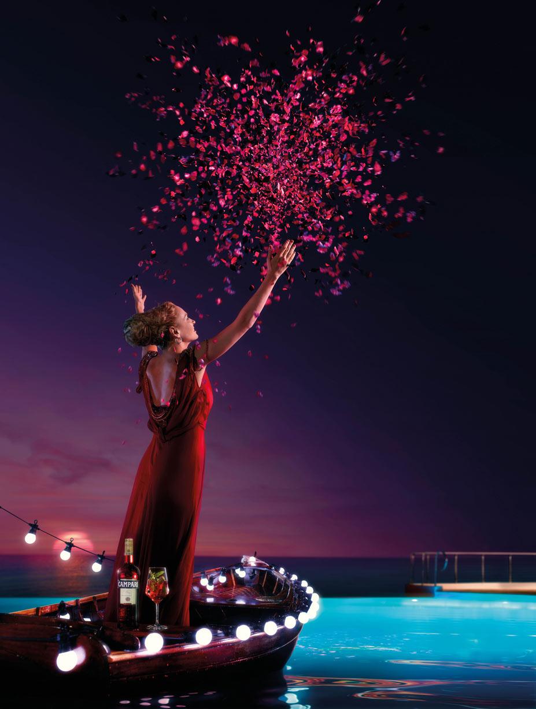 Uma Thurman / Ума Турман в календаре Campari на 2014 год