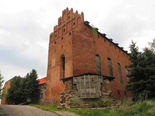 Замок в Барцянах - фото Валерия Смолика, 2012 г.