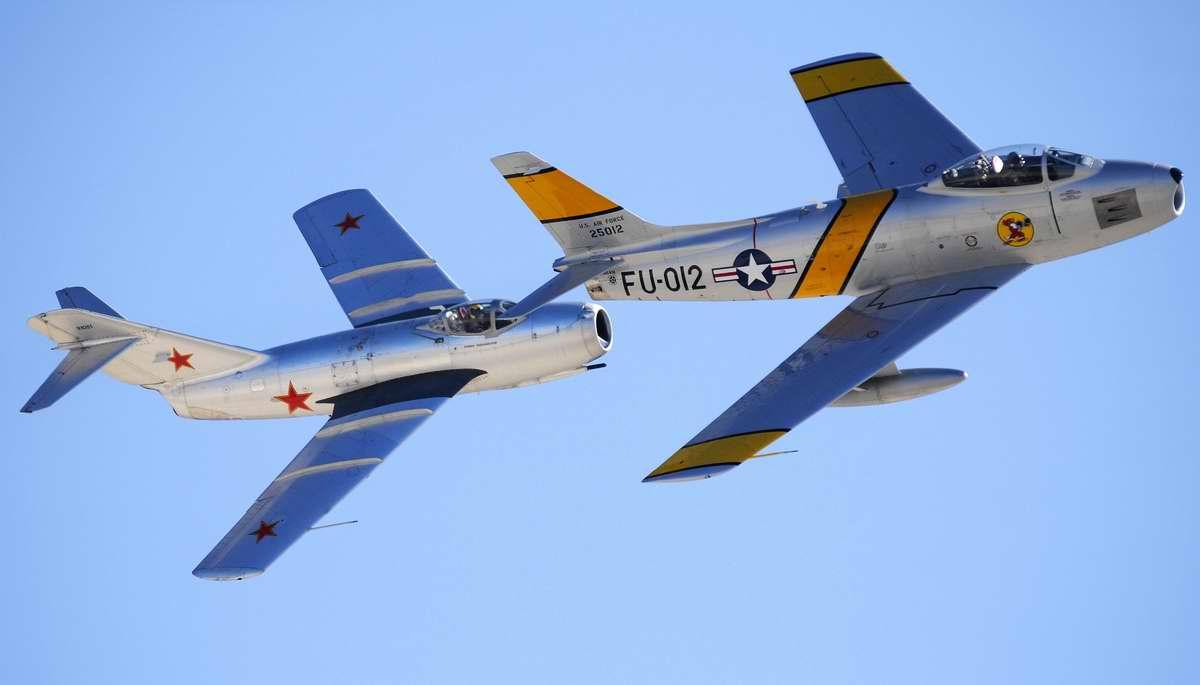 F-86 и Миг-15 (1)