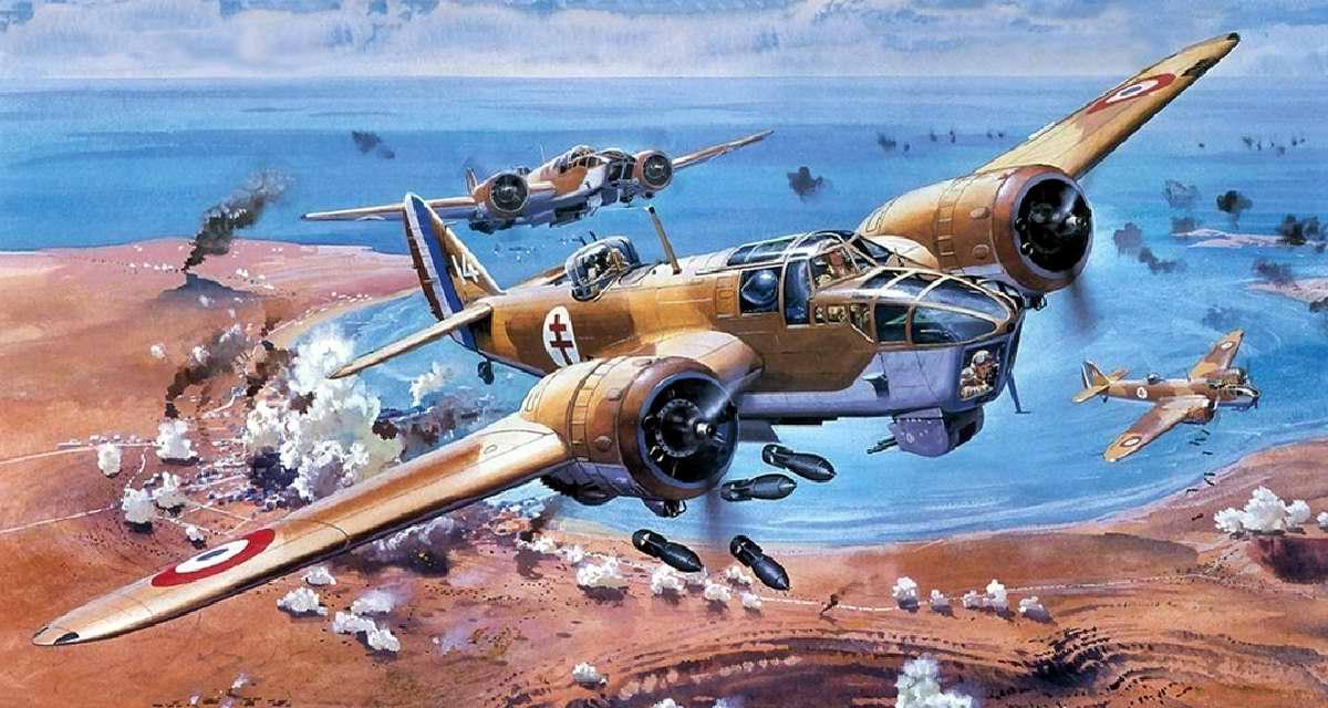 Британский легкий бомбардировщик Bristol Blenheim