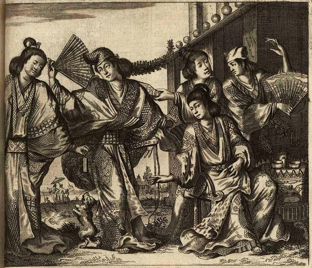 Япония глазами европейцев на гравюрах - 1670 год (12)