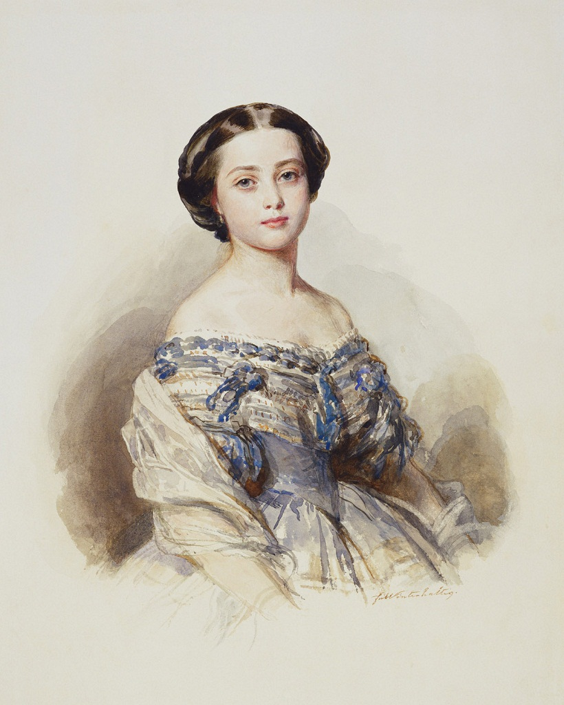 Виктория, королевская принцесса  c.1855