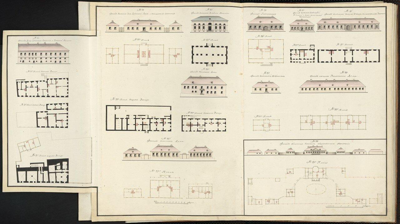07. Планы зданий. Выборг, часть 3