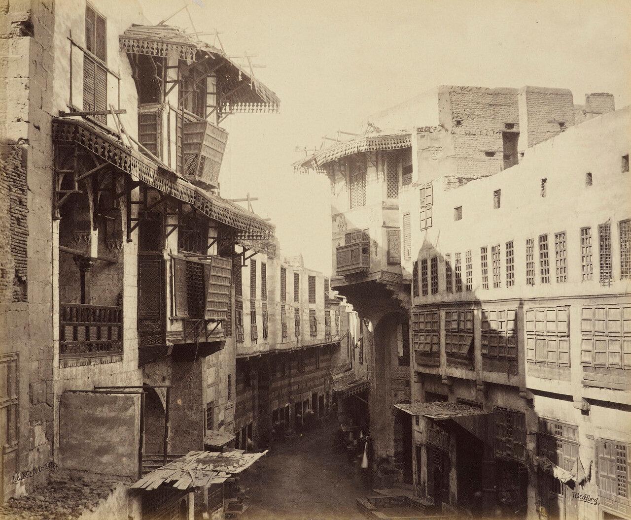 24 марта 1862. Улица в Каире