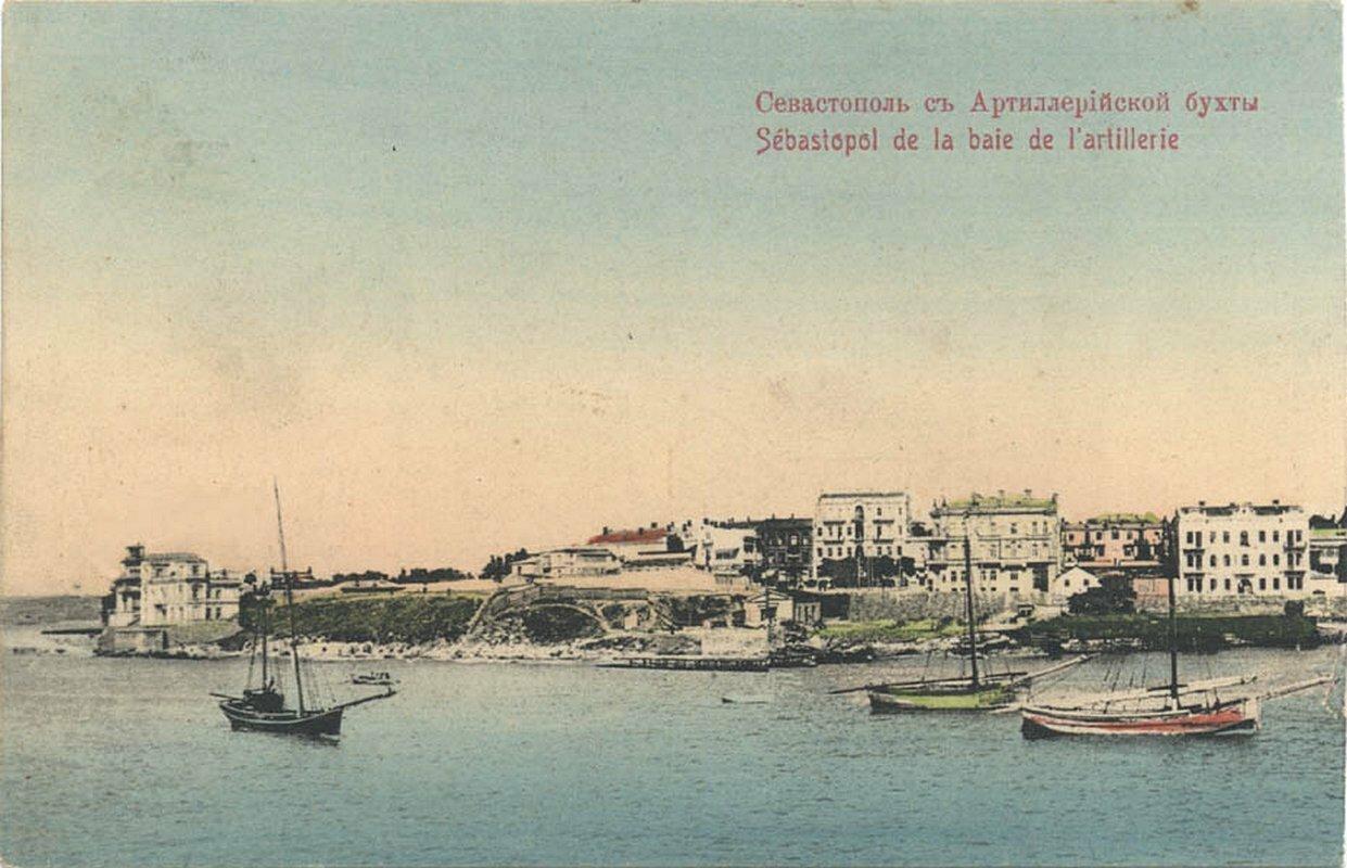Вид на город из Артеллеристкой бухты