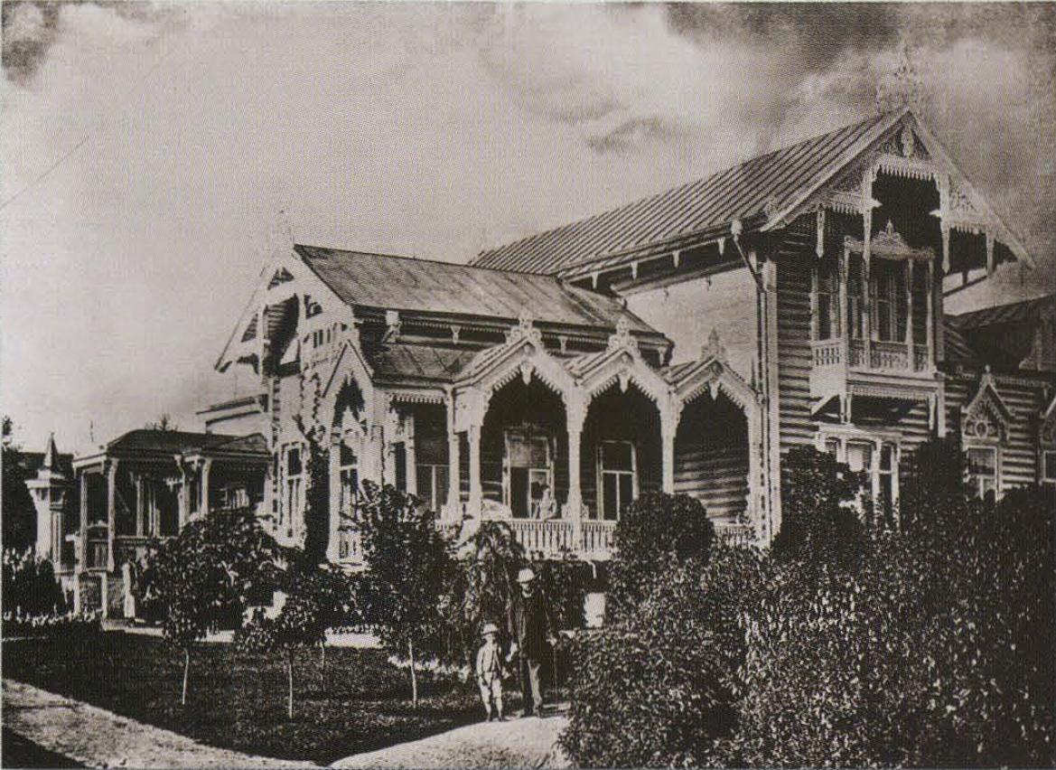 Дача Мамонтова в Мамонтовке. 1894