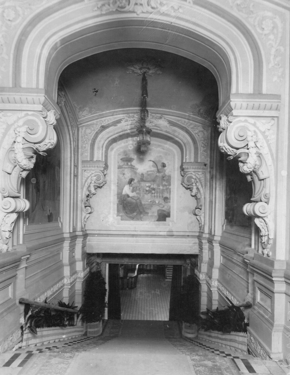 02. Лестница театра