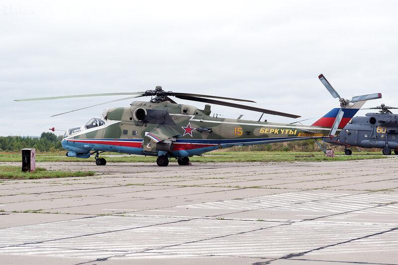 Миль Ми-24П (15 жёлтый) D707231