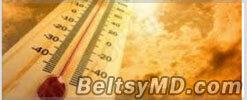 Внимание, жаркая погода — жёлтый код опасности!
