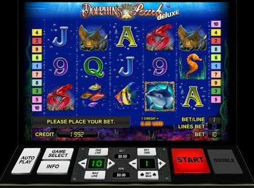 Игровой автомат Dolphin Pearl развлечение онлайн