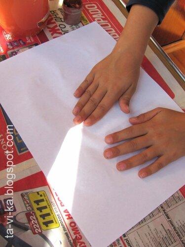 как сделать гравюру на картоне