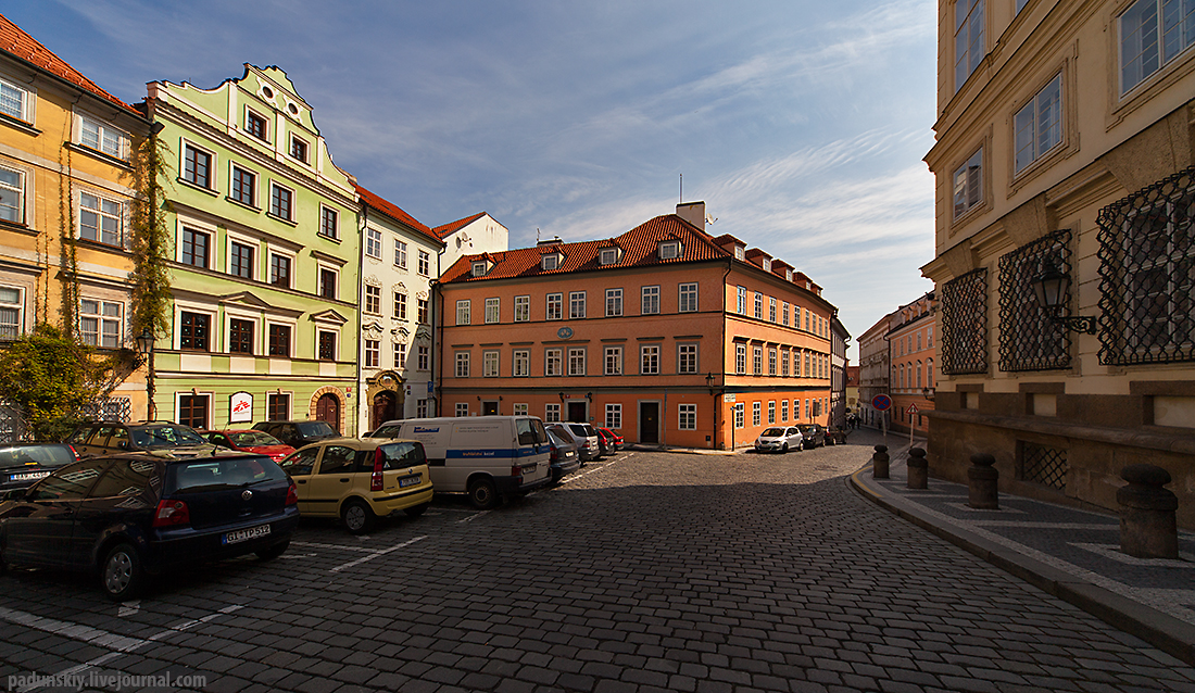 Прага. Любовь и смерть, или Обыкновенная история