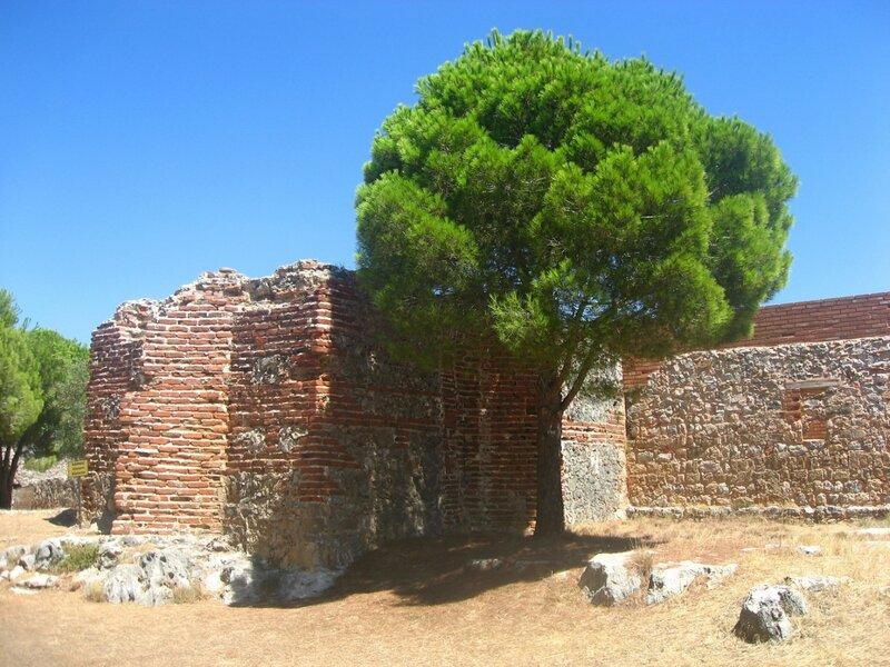 крепость Ичкале, Аланья, Турция,