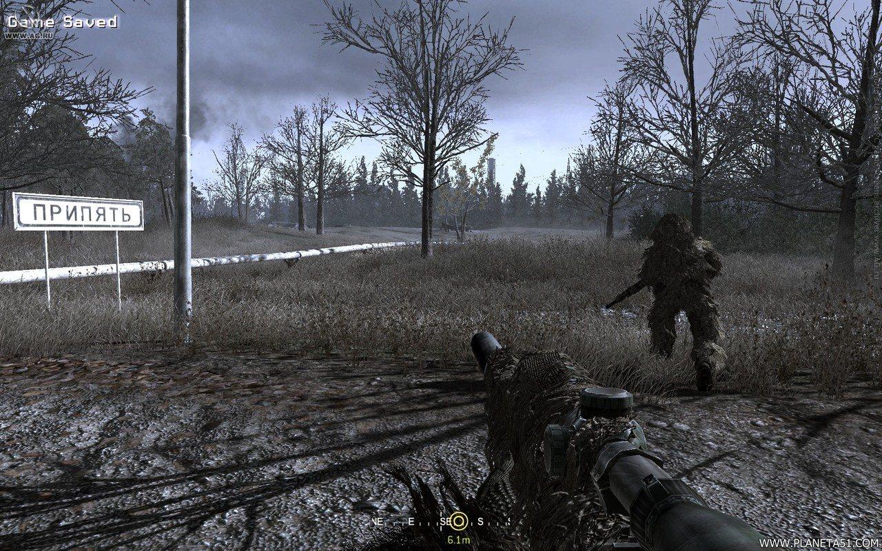 Call of duty 4 modern warfare 4 скачать торрент от механиков