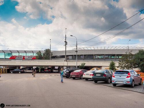 МКЖД. Станция ТПУ Лужники