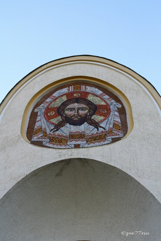 Греко-католический Преображенский собор. Мозаика.