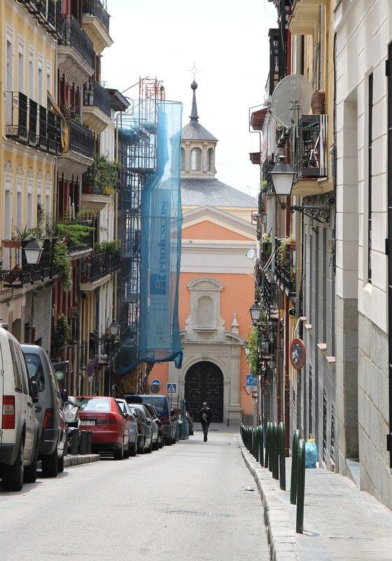 Madrid. San Cosme and San Damian street (Calle San Cosme y San Damián)