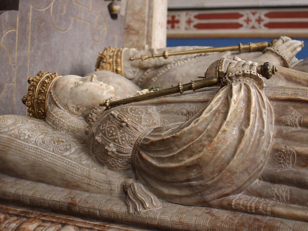 Уппсала, Кафедральный Собор. Интерьеры. Могила Густава Ваза. Tomb of King Gustav Vasa. Uppsala Cathedral interior