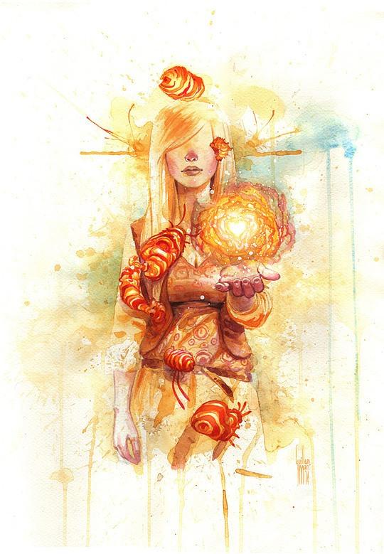 Современные иллюстрации Гиллем Мари