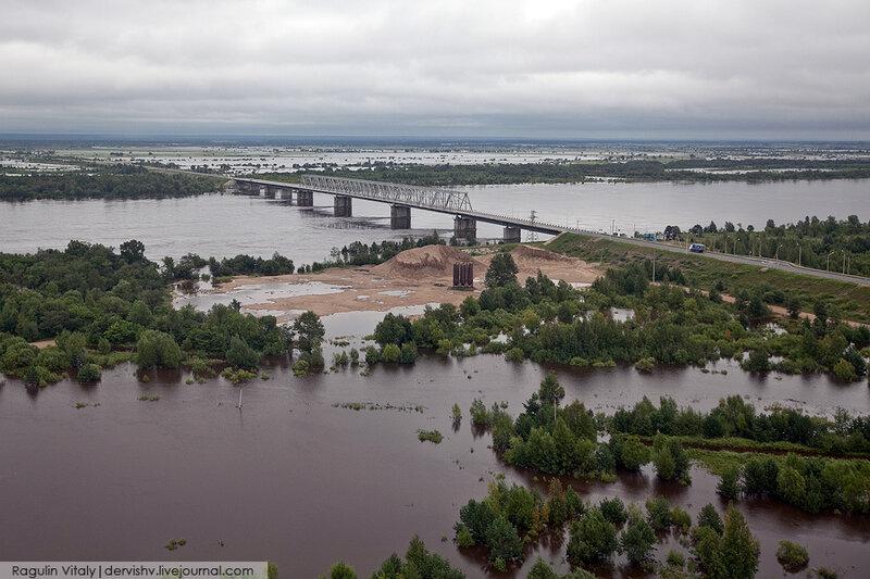 Наводнение в Амурской области, август 2013 года