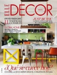 Журнал Elle Decor Spain - Octubre 2015