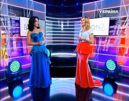 Ева Бушмина на шоу Как две капли