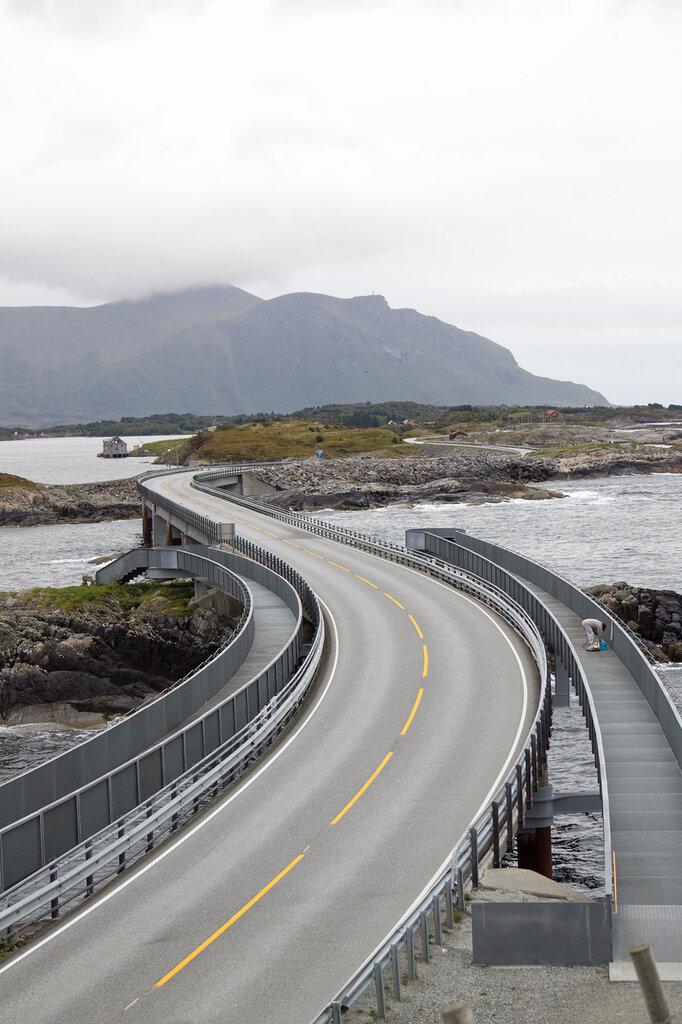 Атлантическая дорога, Норвегия