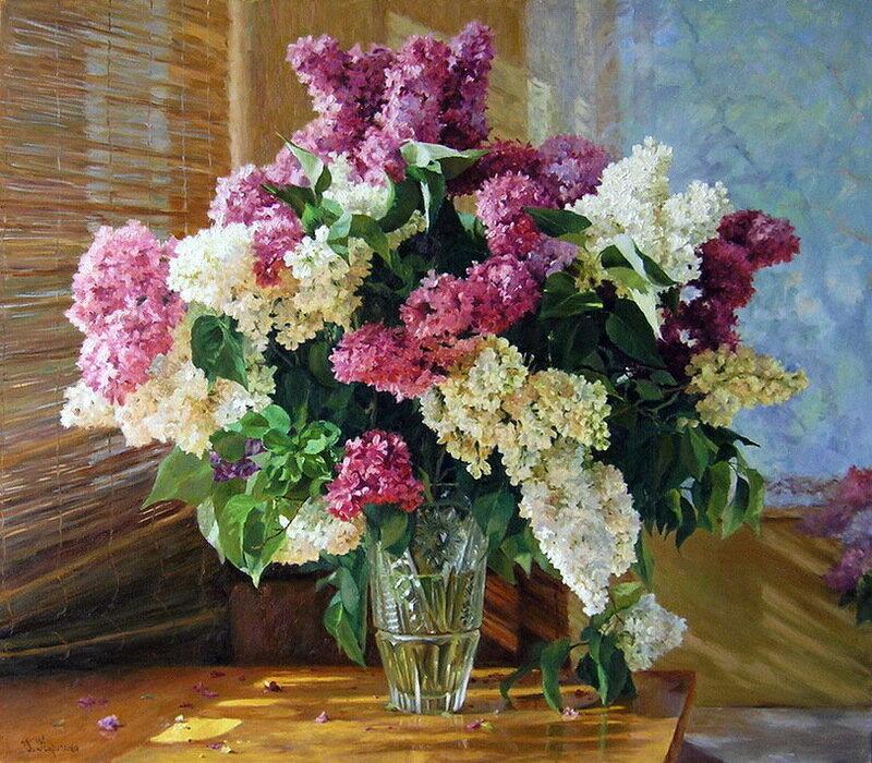 Отцветет только жалко сирень, я люблю её больше,чем розы! Кириченко Геннадий
