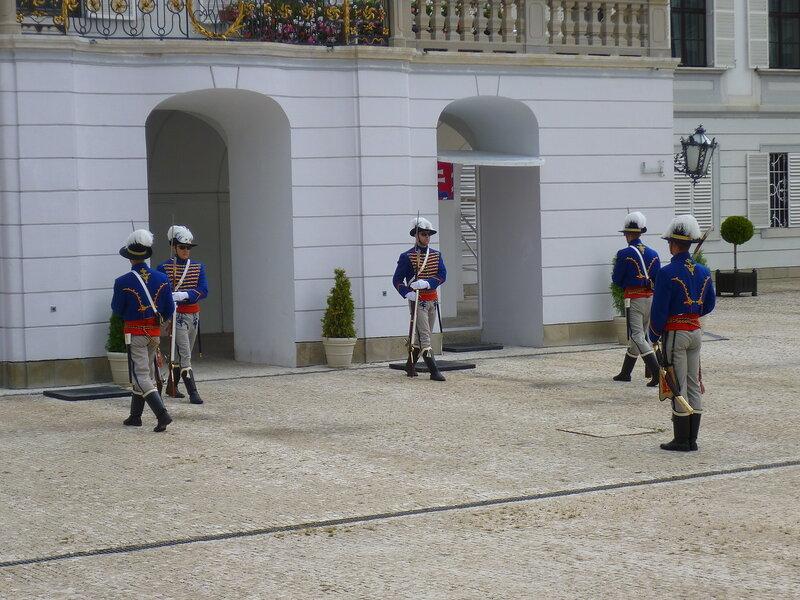 Президентский дворец в Братиславе, Словакия (The Presidential Palace in Bratislava, Slovakia)