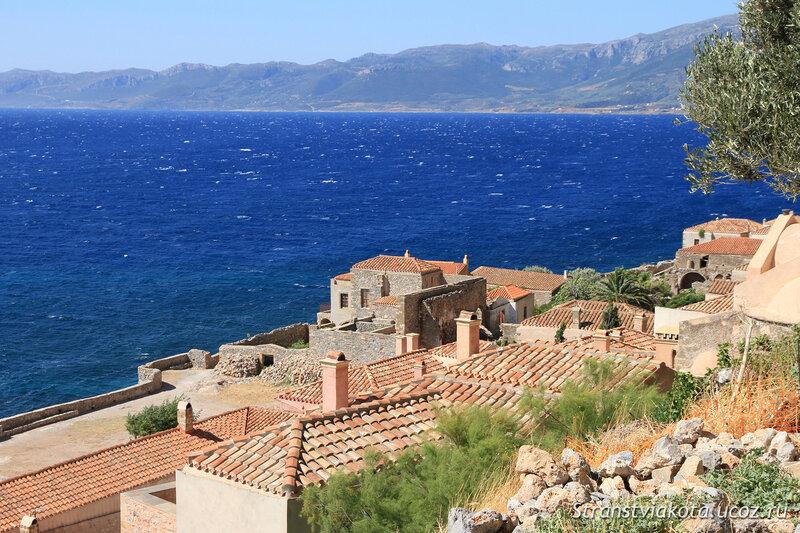 Греция, Пелопоннес, Монемвасия и Мистрас