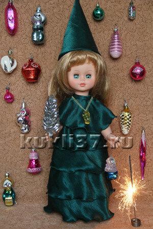 """карнавальный костюм для куклы """"Елка"""""""