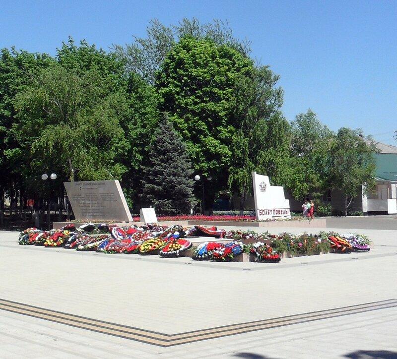 В начале мая, праздник Победы