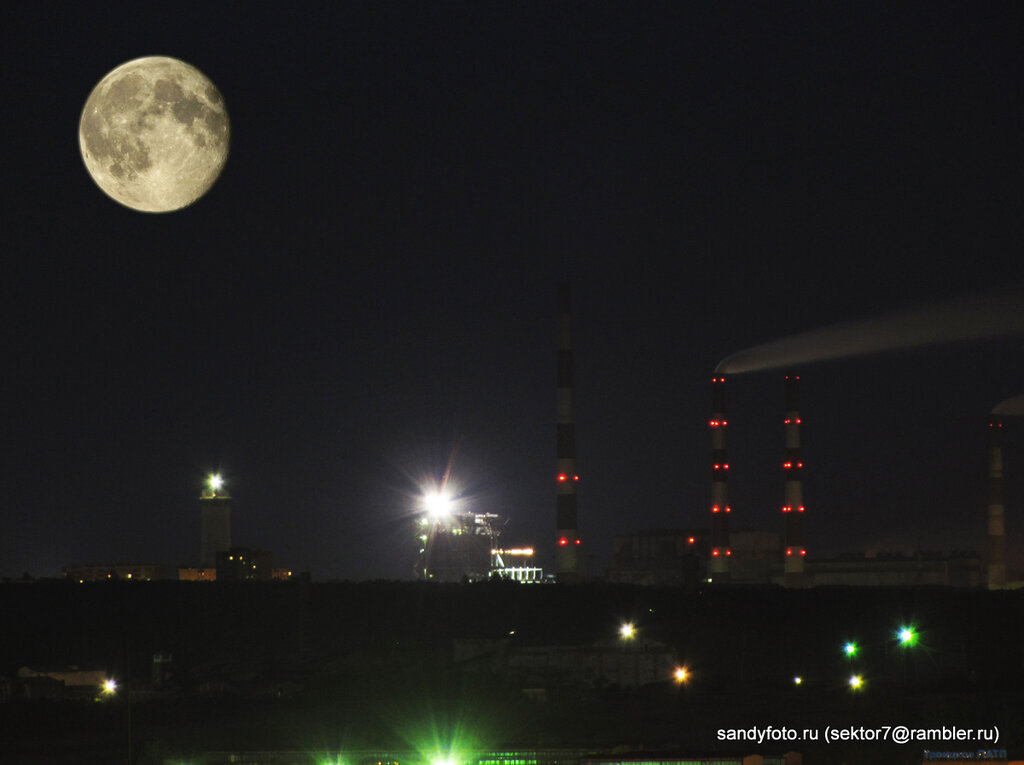 Луна, ГРЭС, Троицк