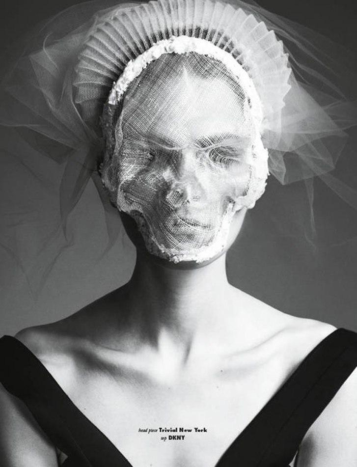 модель Magdalena Langrova / Магдалена Лангрова, фотограф Mikael Schulz