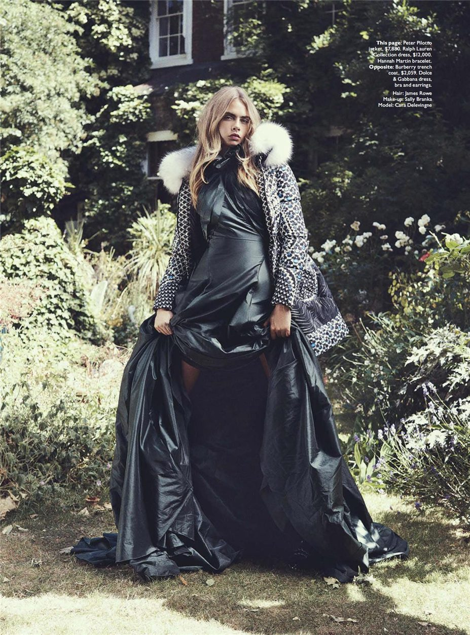 Кара Делевинь / Cara Delevingne by Benny Horne in Vogue Australia october 2013