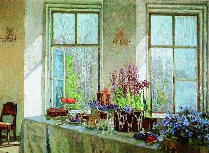 Станислав Юлианович Жуковский (1873 - 1944) Праздник весны. 1911 год