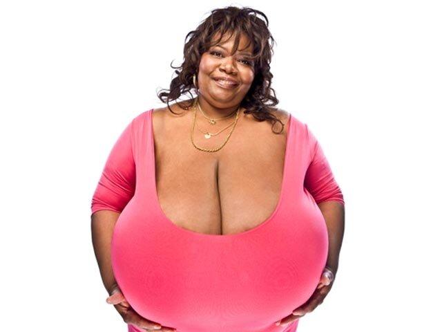 Самая большая грудь