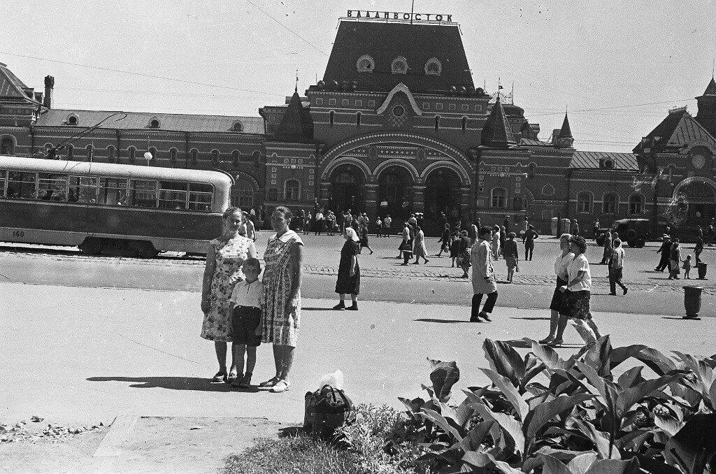 советский владивосток ретро фото